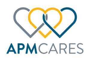 APM Cares Logo